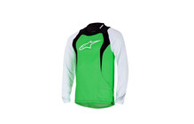 Alpinestars Drop Longsleeve Jersey bright green/white